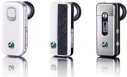 Sony Ericsson'dan üç yeni Bluetooth kulaklık