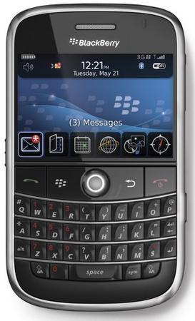 BlackBerry Bold 9000'nin resmi olarak duyurusu gerçekleştirildi