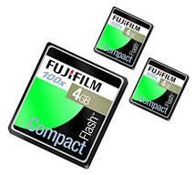 Fujifilm, en hızlı CompactFlash kartlarını piyasaya sürüyor