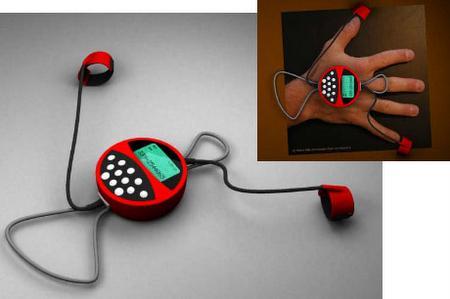 Biodomotica'dan ilginç bir konsept çalışması: El telefonu