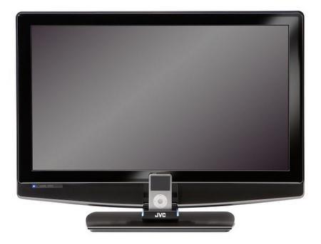 JVC'nin iPod destekli LCD televizyonları sahneye çıkıyor