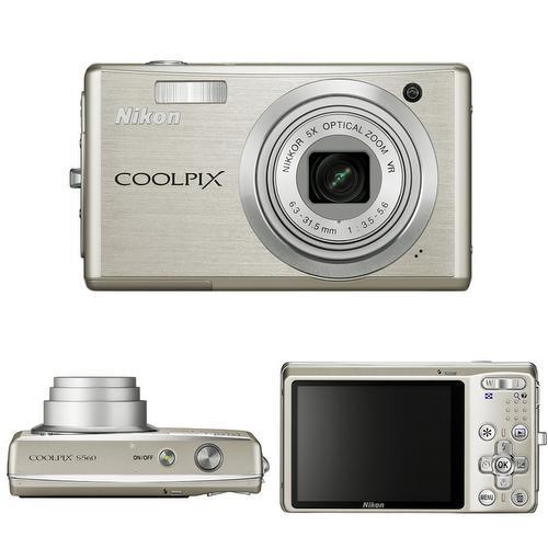 Nikon Coolpix S560; 12 kişiye kadar yüz algılayabilen kamera