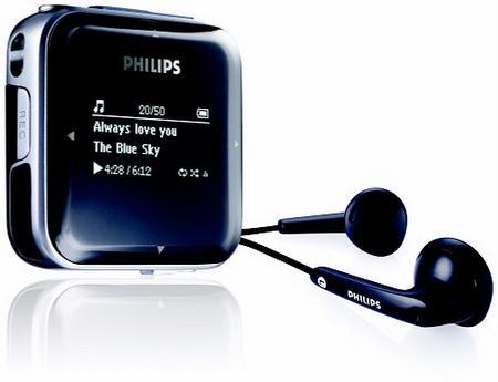 Philips, OLED ekranlı yeni MP3 çalar serisini tanıttı