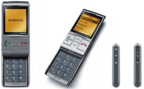 Emporia'dan yaşlılara özgü cep telefonu