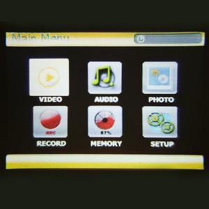 SD kart girişli mikro projektör