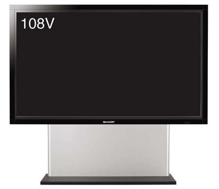 Sharp Aquos LB-1085; 274 ekran LCD TV