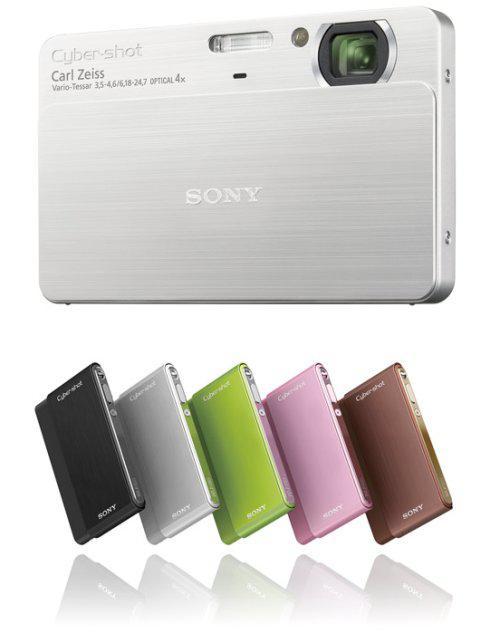 Sony Cyber-shot serisine iki yeni üye ekliyor; DSC-T700 ve DSC-T77