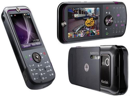5 MP kameralı Motorola ZN5'in lansmanı en sonunda yapıldı
