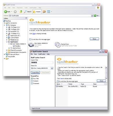 Imation Disc Stakka CD/DVD storage system ; CD saklama ve arama derdine son