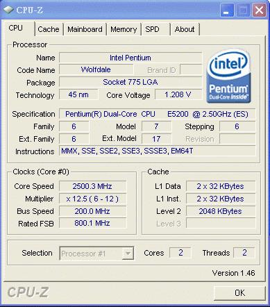 Intel Pentium E5200 fiyat listelerine girmeye başladı