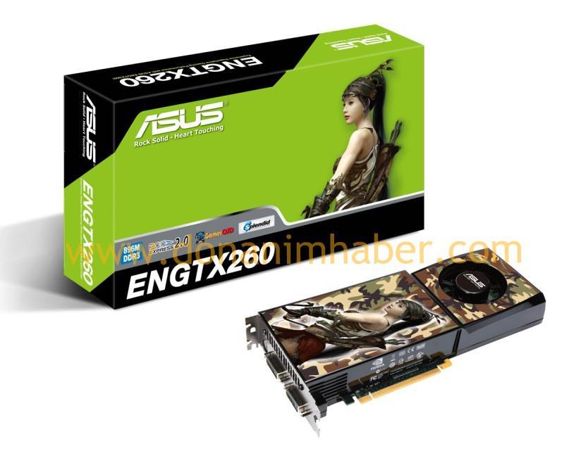 DH Özel: Asus GeForce GTX 260 ortaya çıktı