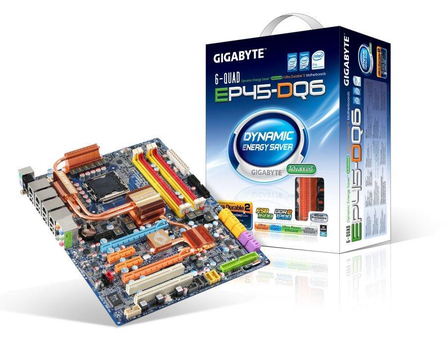 Computex'e doğru: Gigabyte'ın EP45-DQ6 modeli özellikleriyle dikkat çekiyor