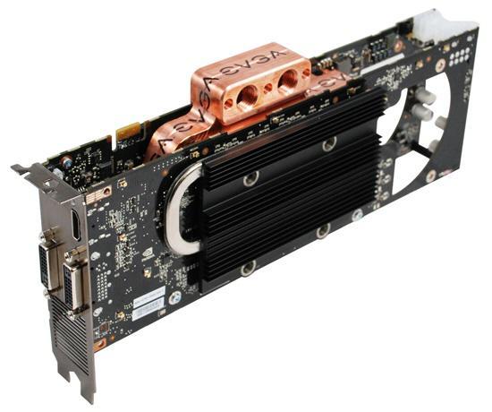 EVGA'dan su soğutmalı yeni GeForce 9800GX2