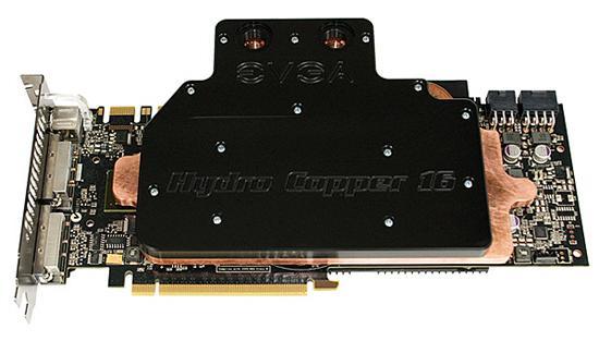 EVGA'dan su soğutmalı GeForce GTX 260 Core 216
