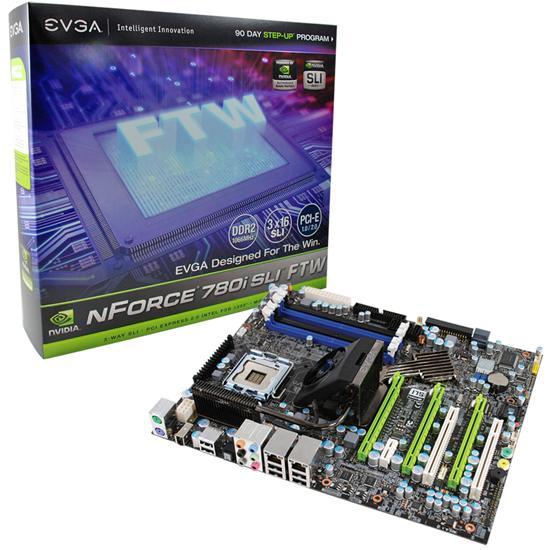 EVGA yeni anakartı nForce 780i SLI FTW'yi duyurdu