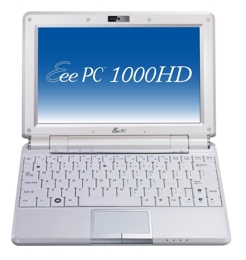 Asus'dan Eee PC serisine yeni model; 1000HD