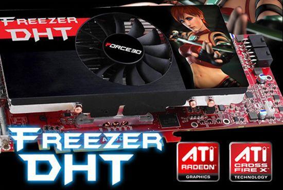 Force3D Freezer DHT soğutmalı Radeon HD 4870 modelini hazırladı