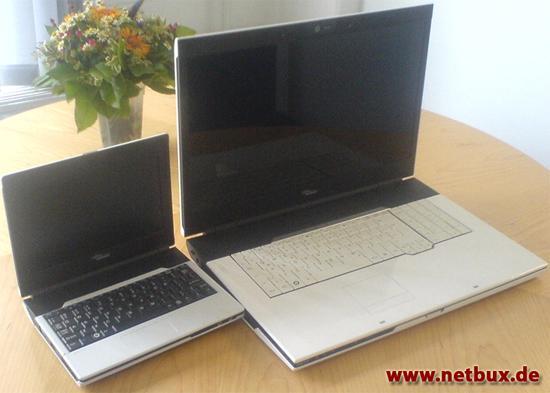 Fujitsu-Siemens'in Netbook'u görüntülendi