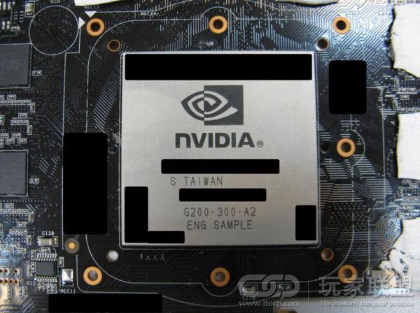 GeForce GTX 280'nin gpu'su casus fotografta göründü