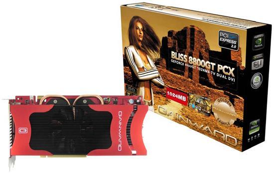 Gainward'dan 1GB bellekli iki yeni GeForce 8800GT