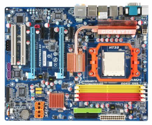 Gigabyte AMD Phenom ailesini 3 yeni anakart ile karşılıyor