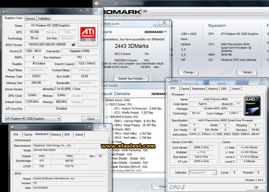 AMD'nin 780G yonga seti hız aşırtma gösterisi yapmaya devam ediyor