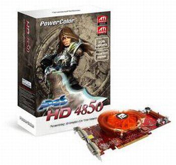 PowerColor 2GB GDDR3 bellekli HD 4850 modelini resmen duyurdu