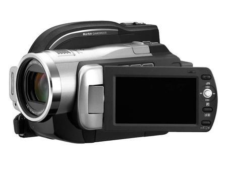 Hitachi'nin yeni kamerası Blu Ray, sabit disk ve SDHC karta kayıt yapabiliyor