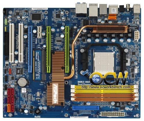 Asrock'dan nForce 780a SLI yonga setli yeni anakart