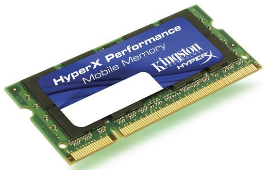 Kingston'dan dizüstü bilgisayarlar için HyperX serisi yeni bellek kitleri