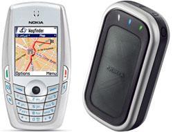 Nokia'nın GPS cihazı LD-1W ile cep telefonundan GPS konumlandırma