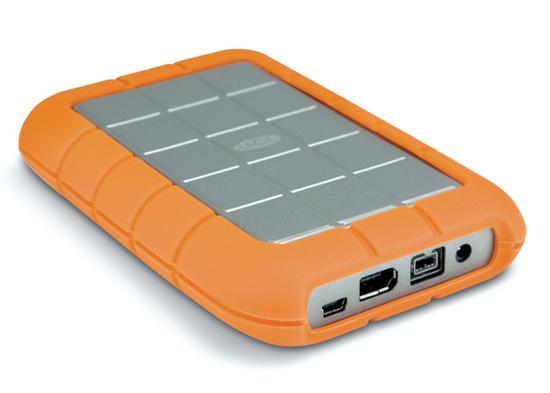 LaCie'den plastik kaplı ve darbeye karşı korumalı yeni taşınabilir hard disk