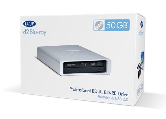 LaCie 4x kayıt yapabilen harici Blu Ray yazıcısını kullanıma sundu