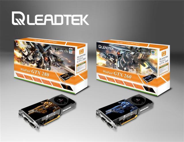 Leadtek GeForce GTX 200 serisi ekran kartlarını duyurdu