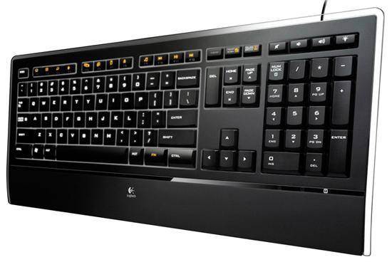 Logitech'den  PC başında geceleyenler için yeni klavye; Illuminated