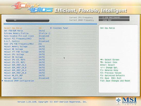 MSI P45 yonga setli anakartlarında EFI BIOS'a geçiyor