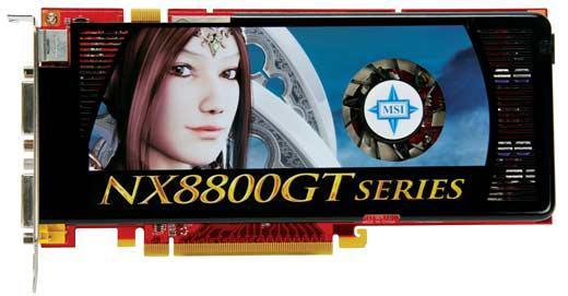 MSI'dan iki yeni GeForce 8800GT geliyor