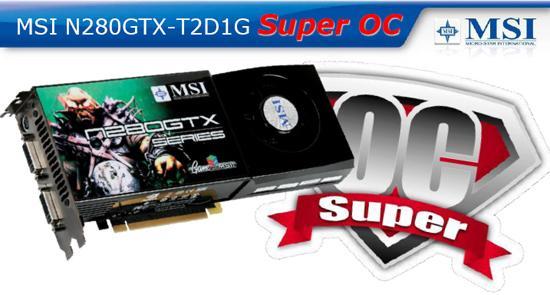 MSI'ın fabrika çıkışı hız aşırtmalı GeForce GTX  Super OC modeli hazır