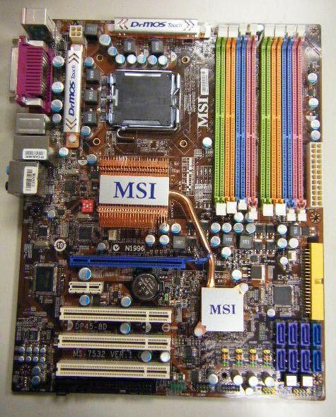MSI'ın bellek aşkı; 8 DIMM slotlu P45-8D ile DDR2 ve DDR3 özgürlüğü