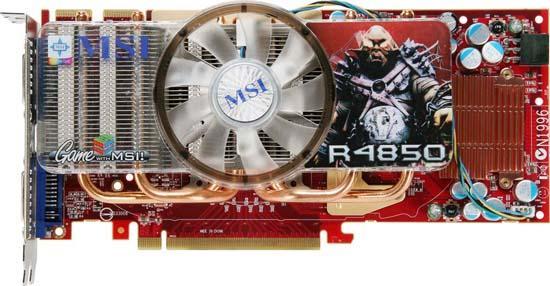 MSI Radeon HD 4850 Quad Pipe modelini duyurdu