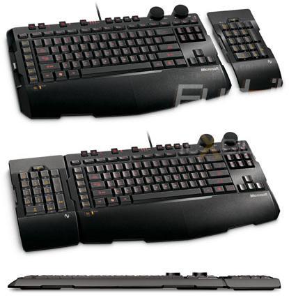 Microsoft'dan yeni oyuncu klavyesi; SideWinder X6