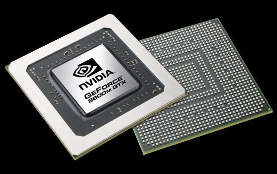 Nvidia'dan yeni mobil ekran kartları; GeForce 9800M GTX ve diğerleri