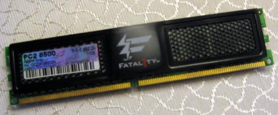 Computex 2008: OCZ'den Fatal1ty serisi bellek ve güç kaynakları geliyor