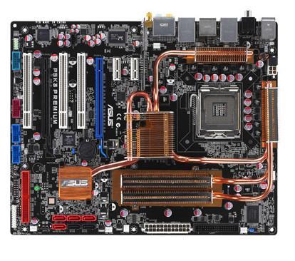 Asus'dan bir ilk daha: Entegre DDR-3 bellekli anakart P5K3 Premium/WiFi-AP