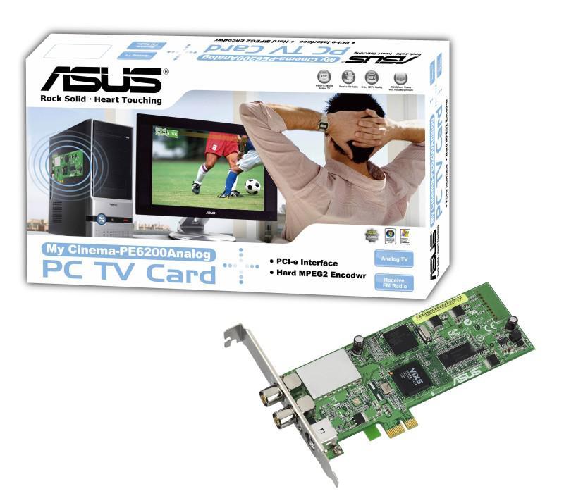 Asus PCIe x1 uyumlu yeni tv kartlarını duyurdu