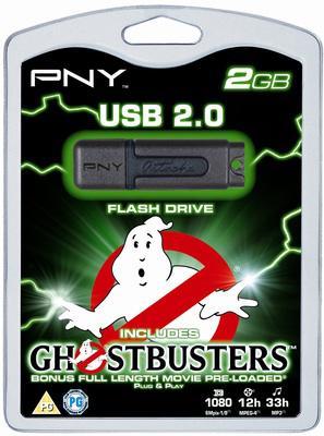 PNY yeni usb belleğiyle Ghostbusters filmini hediye edilyor
