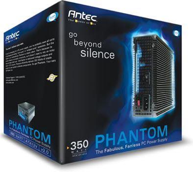 Antec Phantom 350, En iyi fansız güç kaynağı