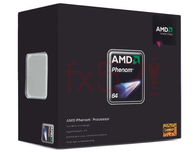 AMD Phenom 9600 Black Edition'ı duyurdu