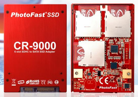 PhotoFast SDHC bellek kartlarını temel alan SSD hazırladı