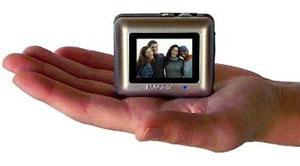 Cebinizdeki dijital fotoğraf albümü ; MAGPIX Pocket Photo Album / Mini DVR ; Teac DV-R05 DVR